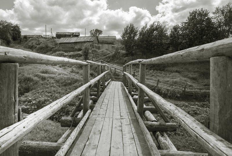 Деревенский мост.photo preview