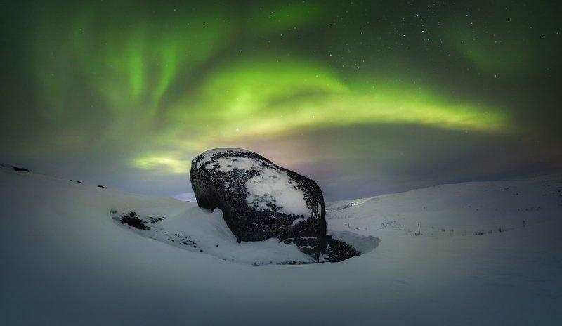 териберка, ночь,звезды,северное сияние,аврора,звезды,снег, зима,пейзаж,россия,мурманск,север,фототур Повелитель северных сновphoto preview