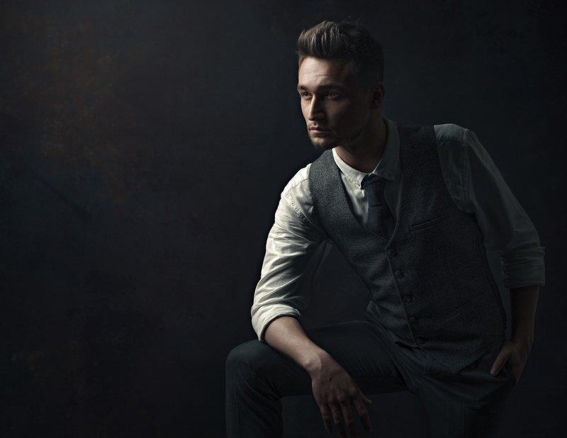 портрет, мужской портрет Игнатphoto preview