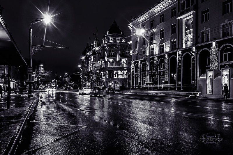 вечер в ч/бphoto preview
