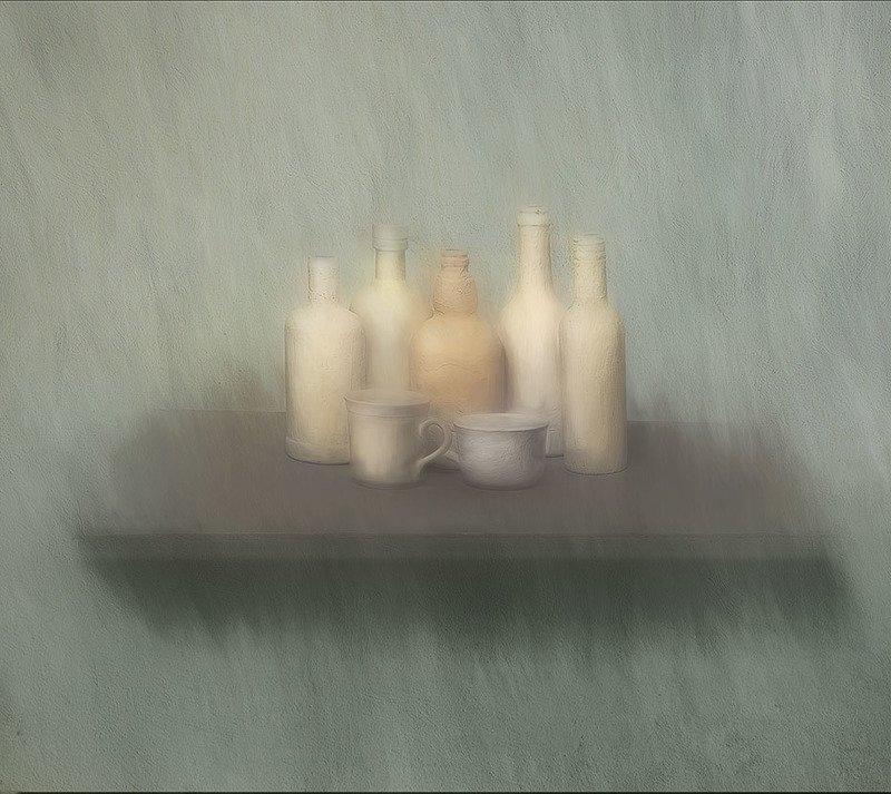 белая посудаphoto preview