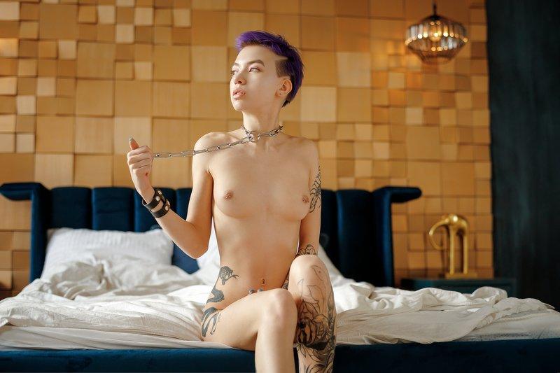 ню, nude, портрет, 50mm Linaphoto preview