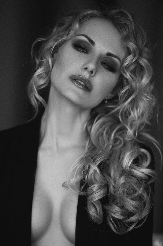 чб портрет студия Ellephoto preview