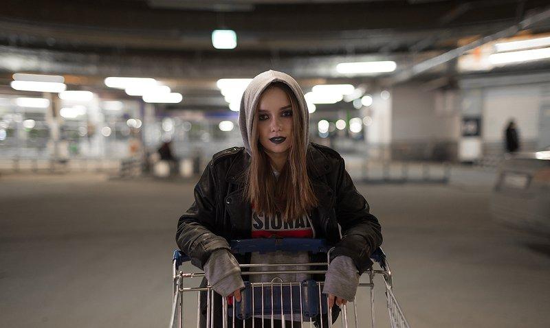 девушка, модель, фотосессия, портрет Элинаphoto preview