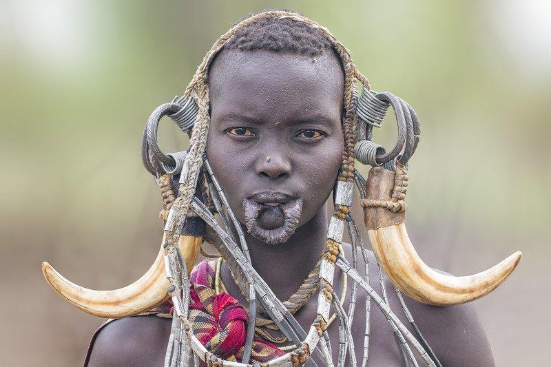 Ethiopia - Mursi фото превью