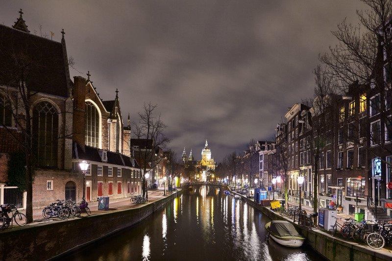 Спящий Амстердам…. Нидерландыphoto preview