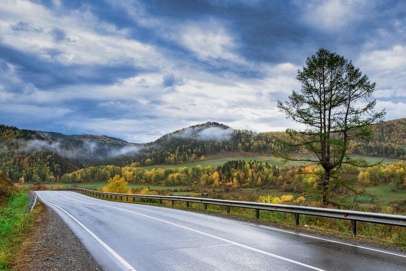 алтай, облака, горы, осень горы и облакаphoto preview