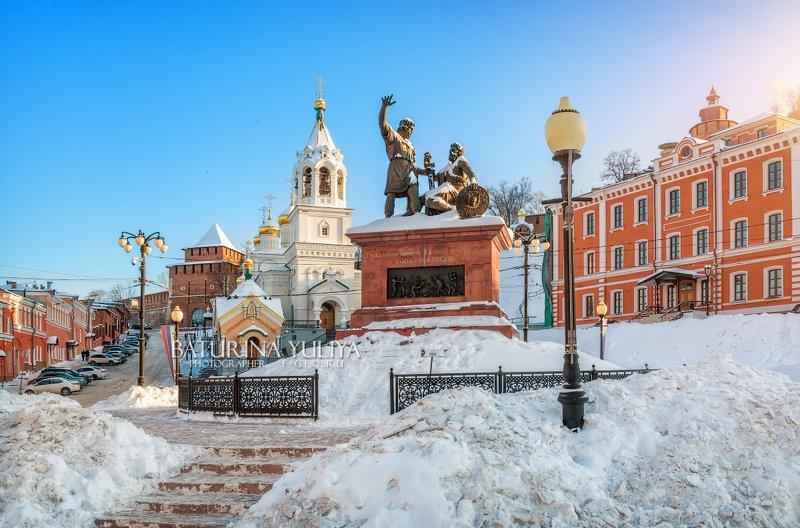 нижний новгород, минин и пожарский Минин и Пожарский в Нижнем Новгородеphoto preview