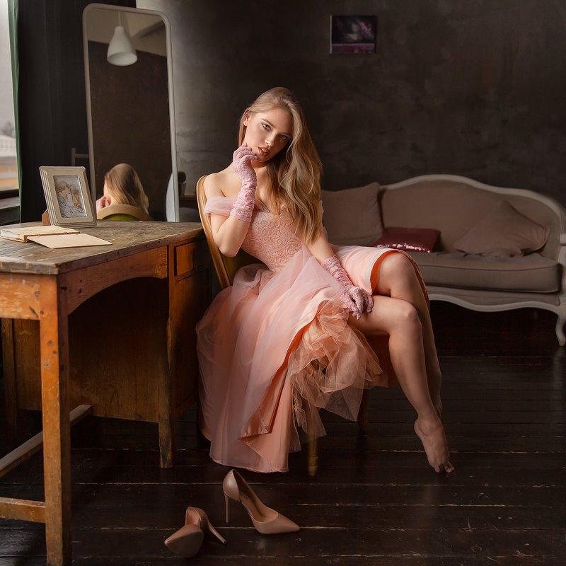 Девушка, модель, красота, студия Катеринаphoto preview