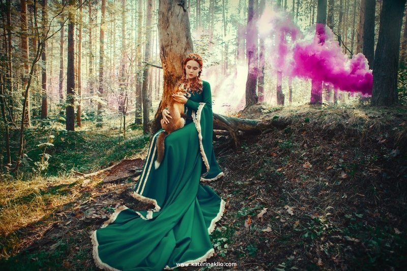 fox, queen, fairy, forest Foxesphoto preview
