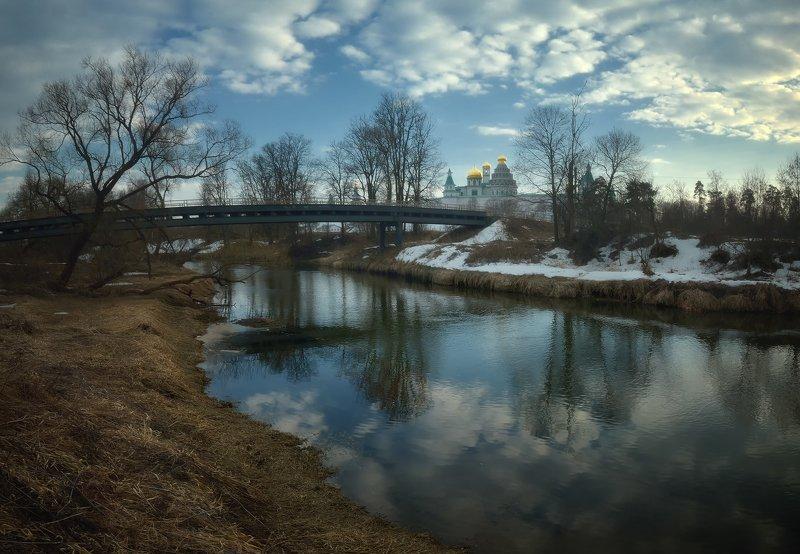 лес, природа, пейзаж, весна, река, вода, ручей, подмосковье Весне дорогуphoto preview