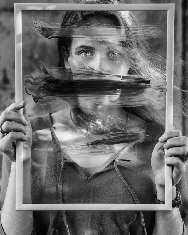 portrait, woman I\'am inphoto preview