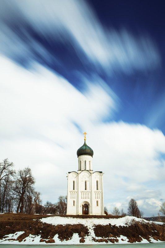церковь покрова на нерли ЛЕТЕЛИ ОБЛАКА...photo preview