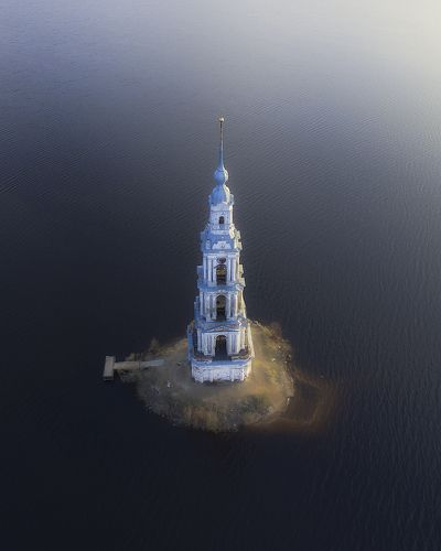 Flooded belfry