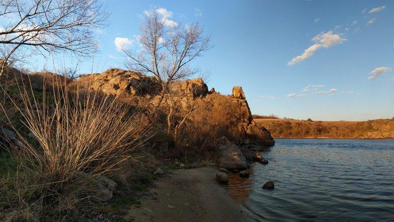 река,днепр,пейзаж,скалы,берег,landscape ***photo preview