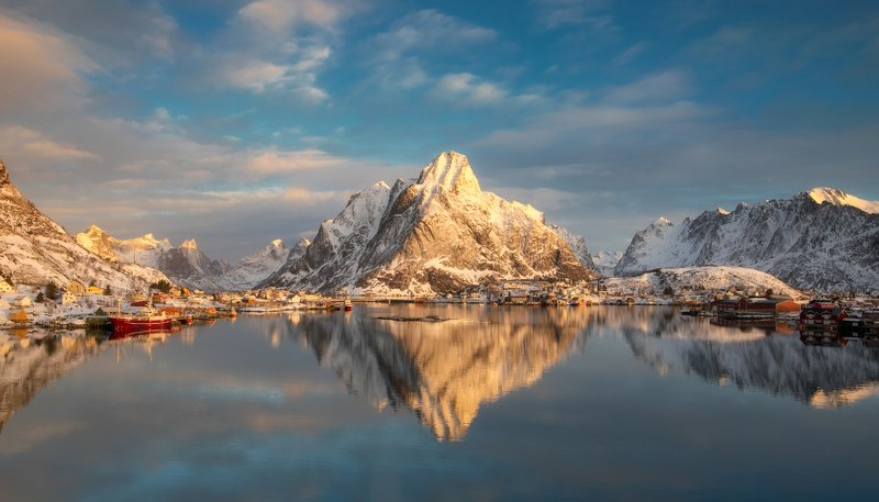 lofoten, norway Reinephoto preview
