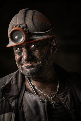 Портреты шахтеров