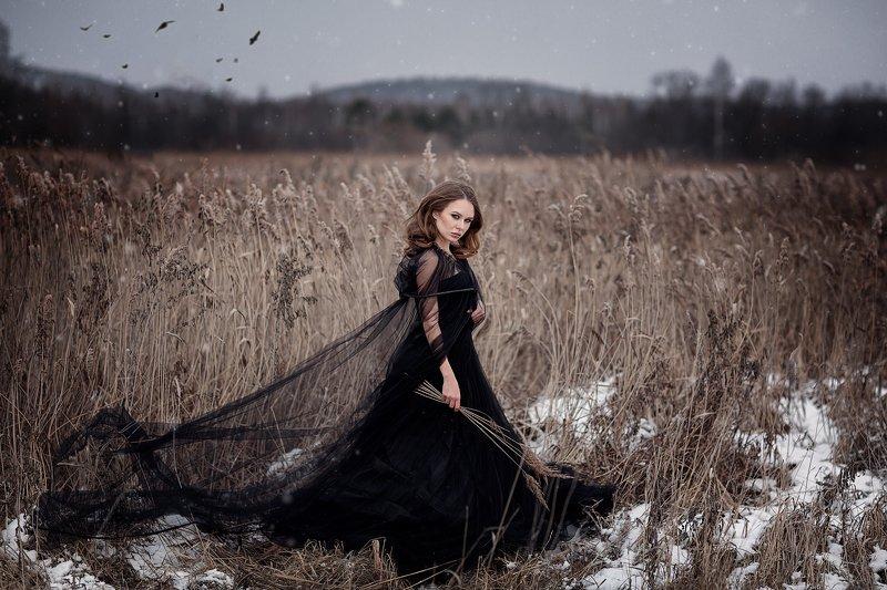портрет красота девушка арт Воронаphoto preview
