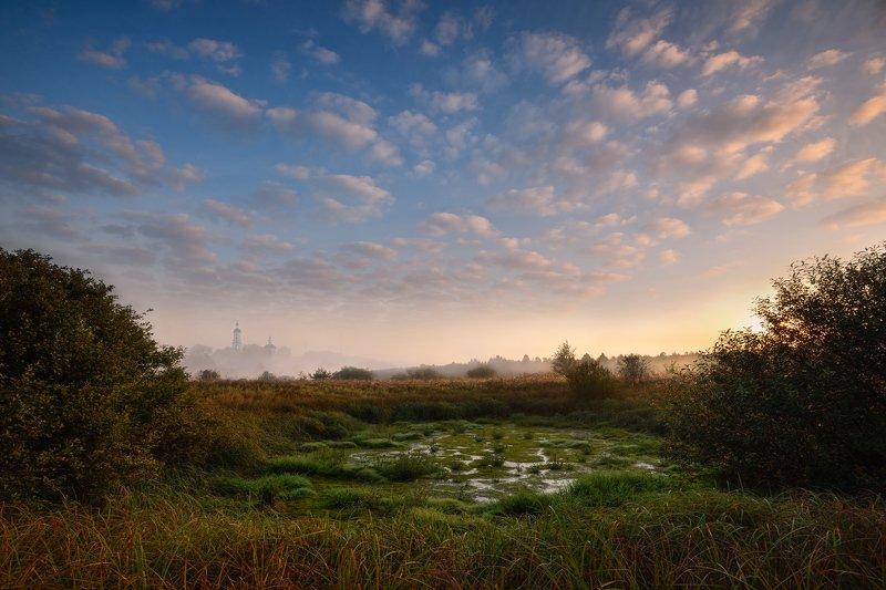 утро, рассвет, солнце, небо, облака рассвет в Филипповскомphoto preview