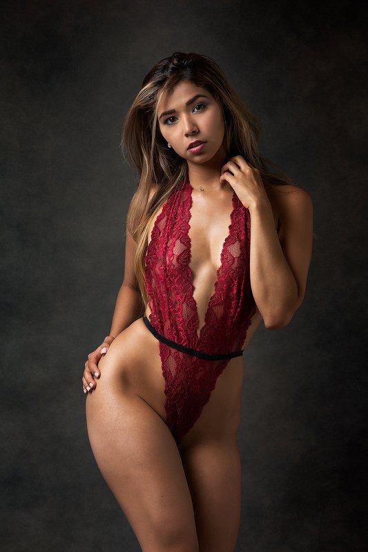 sexy, fashion, hot, latin, fitness, latin, mexican, girl, curves, hot, abs, сексуальный, горячий, дамское белье,venezuela,venezolan Red Lingeriephoto preview
