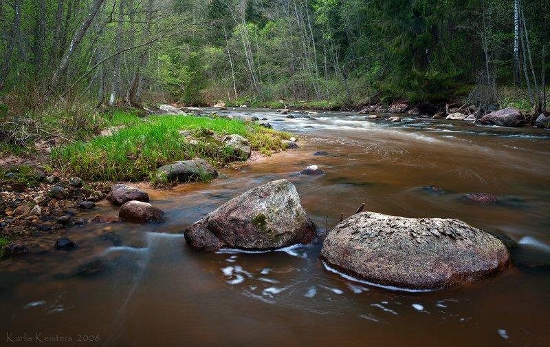 Река Амата в апрелеphoto preview