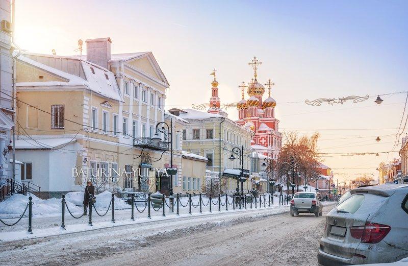 нижний новгород, рождественская улица Храм на Рождественской улицеphoto preview