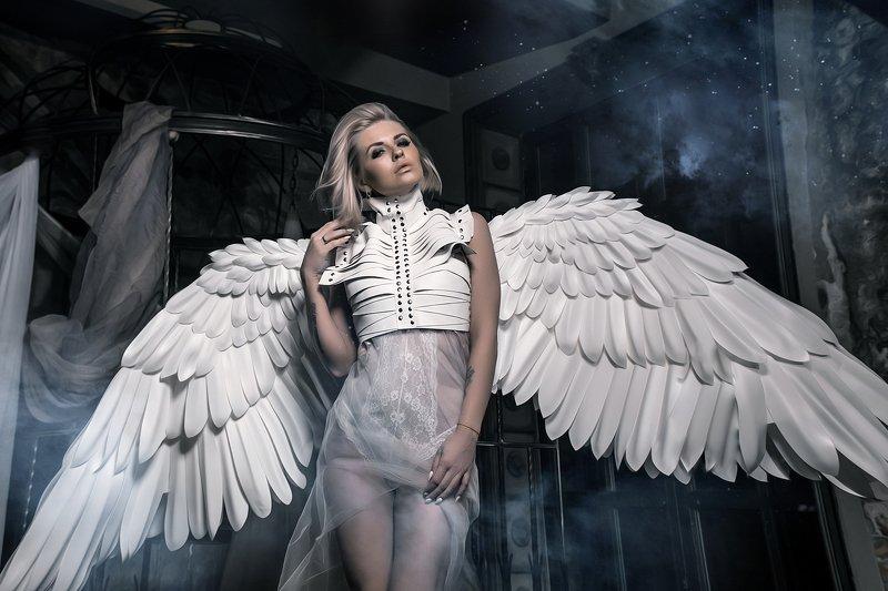 ангел белыйангел черныйангел blackangel whiteangel torduafoto tordua тордуа Две личности одного целогоphoto preview