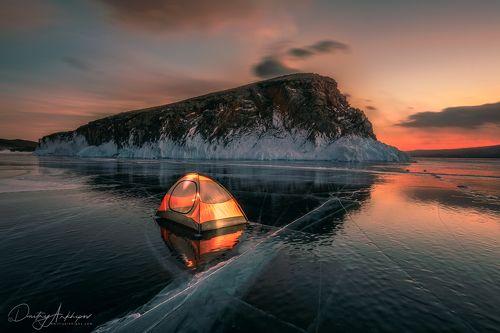 Ночь на Байкале