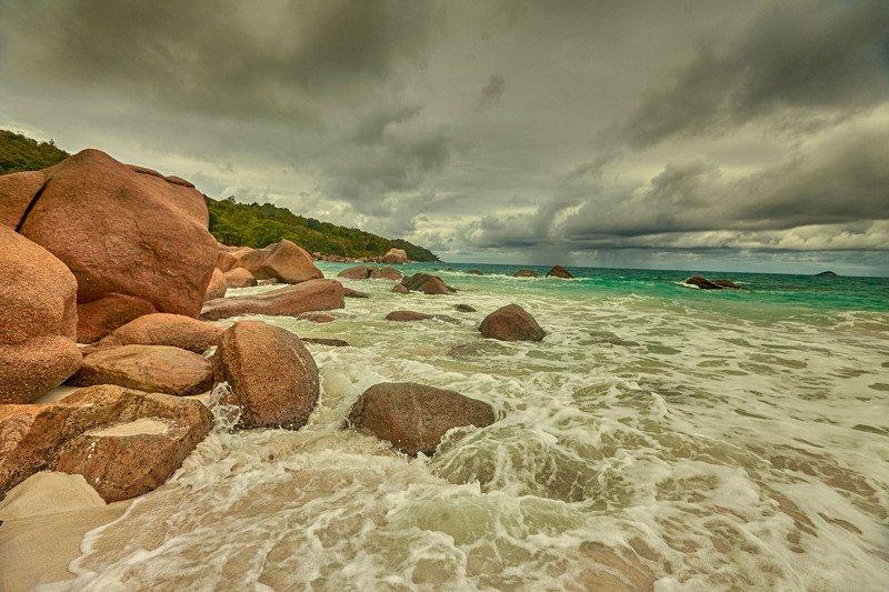 Перед штормом. Остров Праслен.Сейшельский архипелаг.photo preview