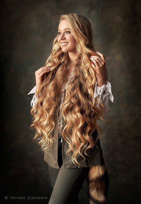 девушка, красивая, блондинка, волосы, красивый портрет, портрет, tanyasid, Полинаphoto preview