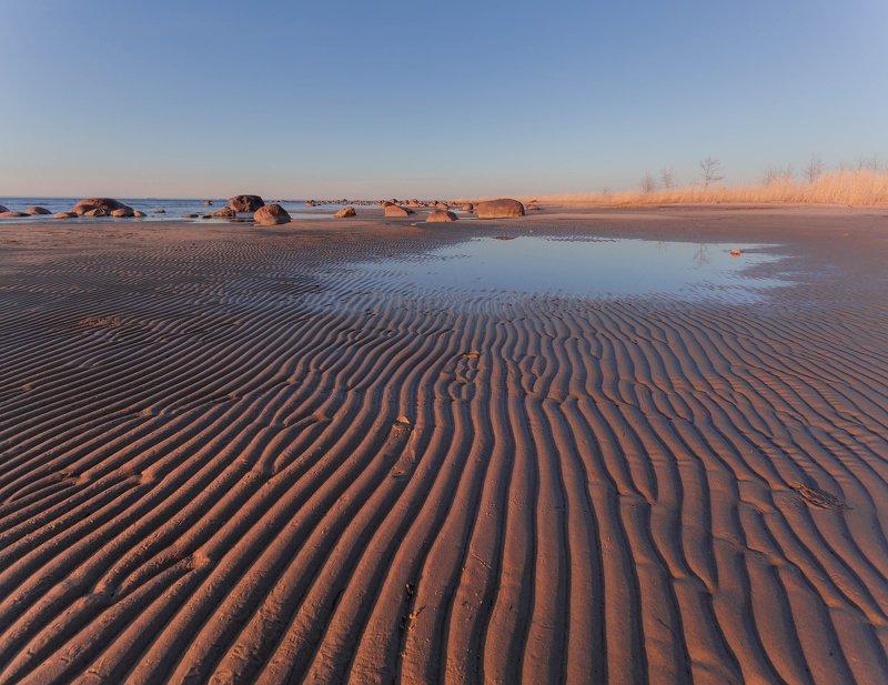финский залив, пляж ,песок, балтика Балтийский узорphoto preview