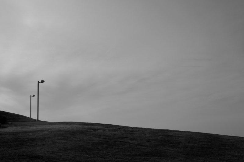 black, &white, , silhouette enjoy the silence...photo preview