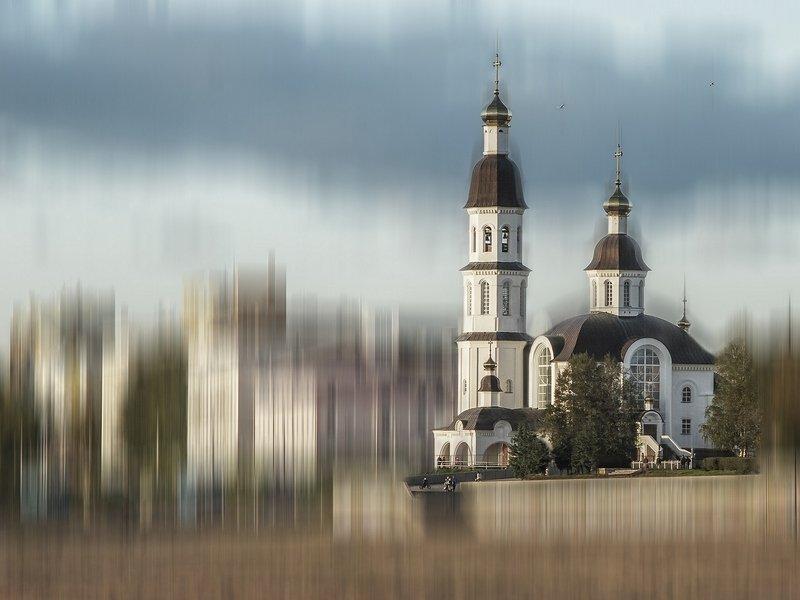 Город, набережная, Церковь Церковь Успения Пресвятой Богородицыphoto preview