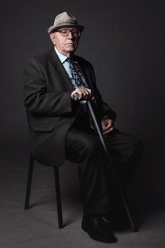 студия, портрет, муской портрет, пожилой человек Участник ВОВphoto preview