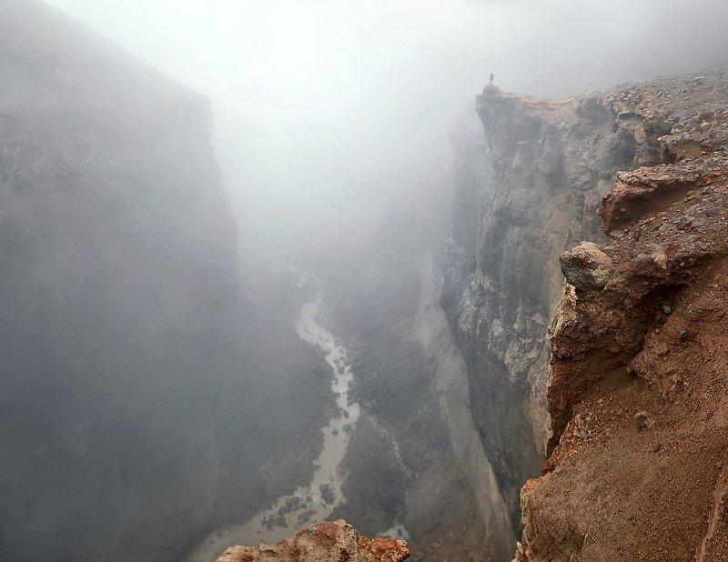 камчатка, каньон, опасный Из серии \