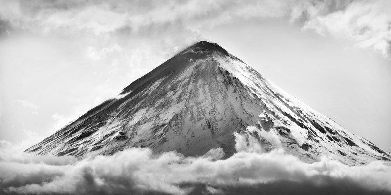камчатка, вулкан, ключевской, Камчатский великан...photo preview