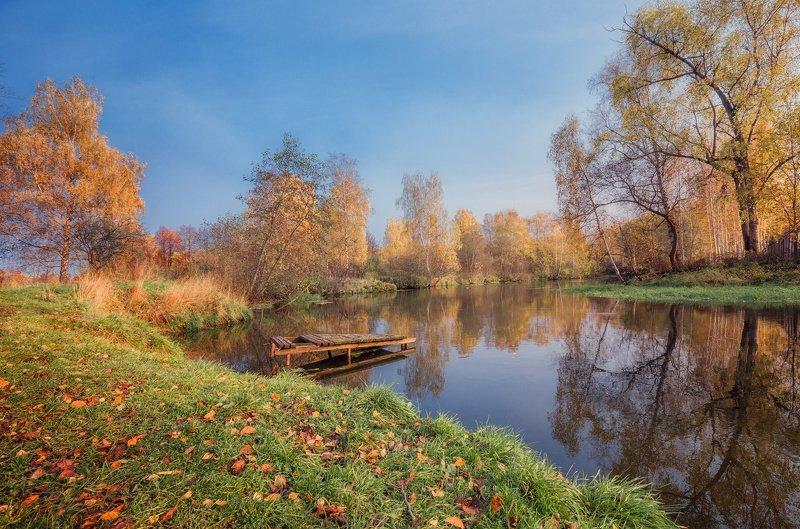 клязьма, река, осень Клязьма, осеньphoto preview