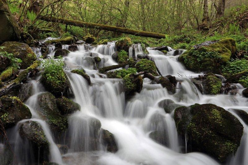 апрель ручей Вешние водыphoto preview