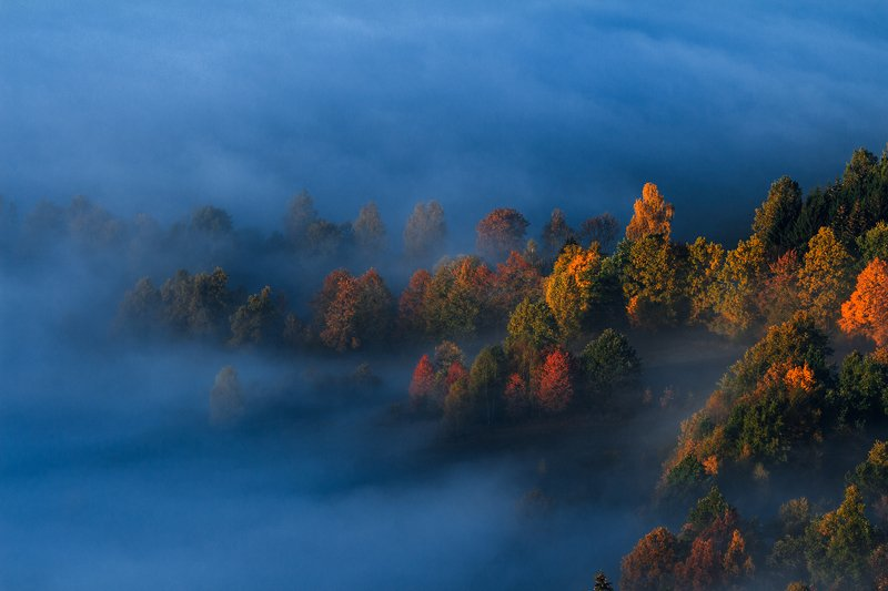 landscape,canon,mist,light,autumn Gentle Breath of Morning....photo preview