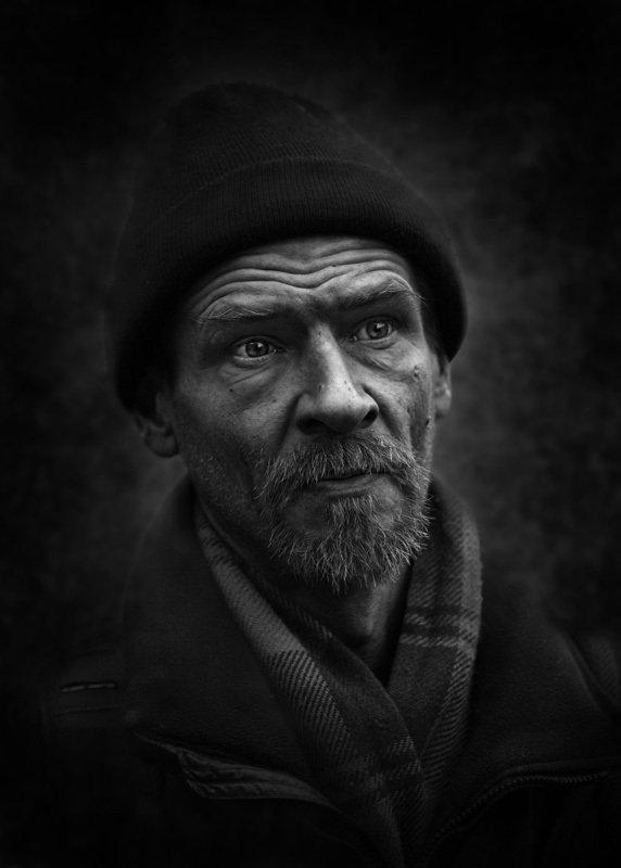 портрет, юрий_калинин, лица, черно_белое, юрец, уличная_фотография, люди в миру фантазийphoto preview