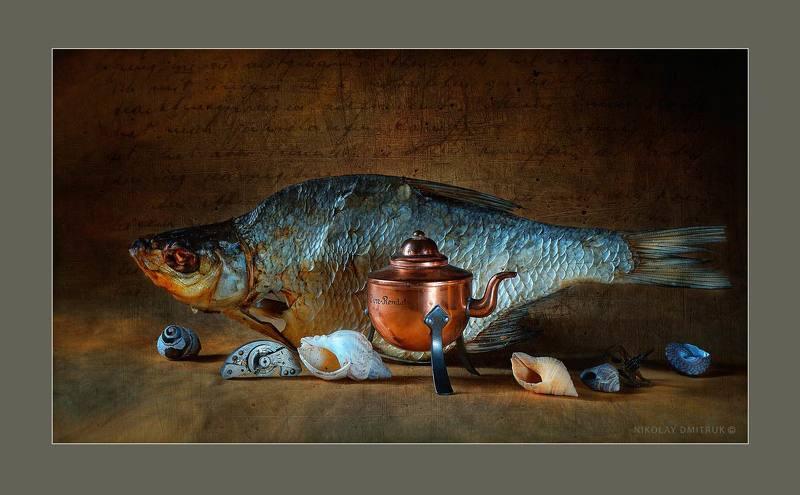 натюрморт рыбий жир. студия непрерывного света N26photo preview