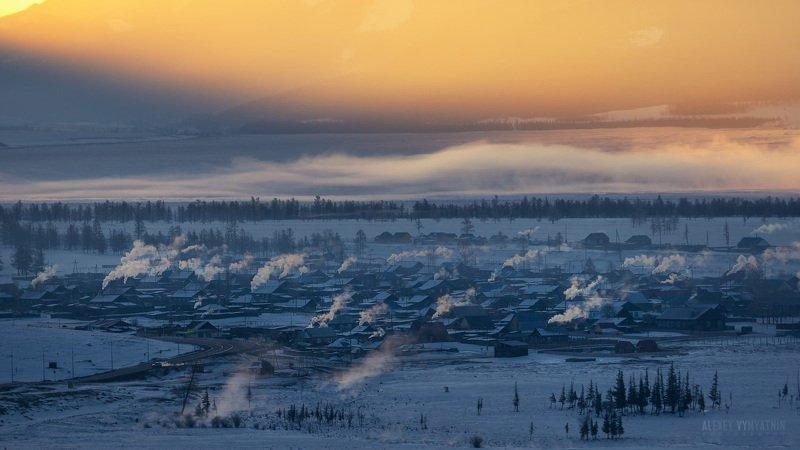 алтай, зима, горы, пейзаж, outdoor, altay, mountains, snow, winter Пробуждениеphoto preview