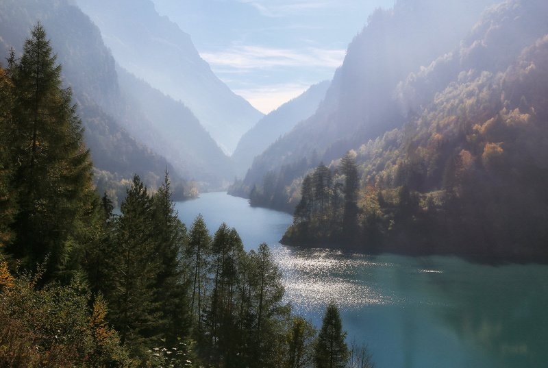 швейцария, альпы, горы Тихий альпийский вечерphoto preview