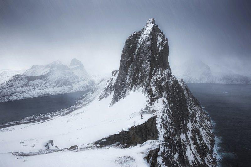 segla, senja, norway, сенья, норвегия, зима, хмуро Хмурая Seglaphoto preview