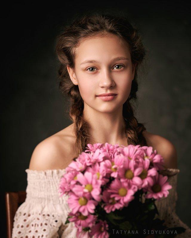 девушка, красивая, красивый портрет, портрет, tanyasid, кудрявая Василисаphoto preview