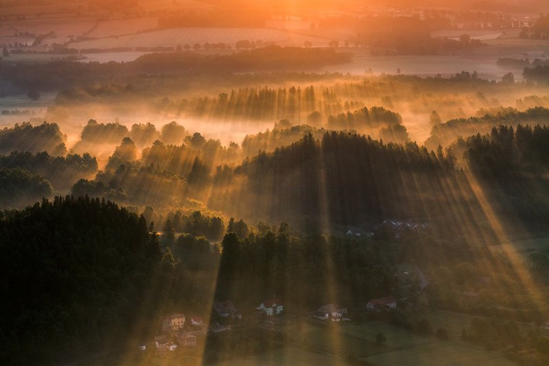 landscape,canon,mist,light,spring,mountains In the Morning Light.photo preview