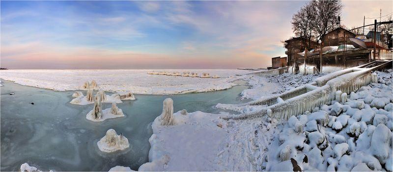 Зимняя Одессаphoto preview