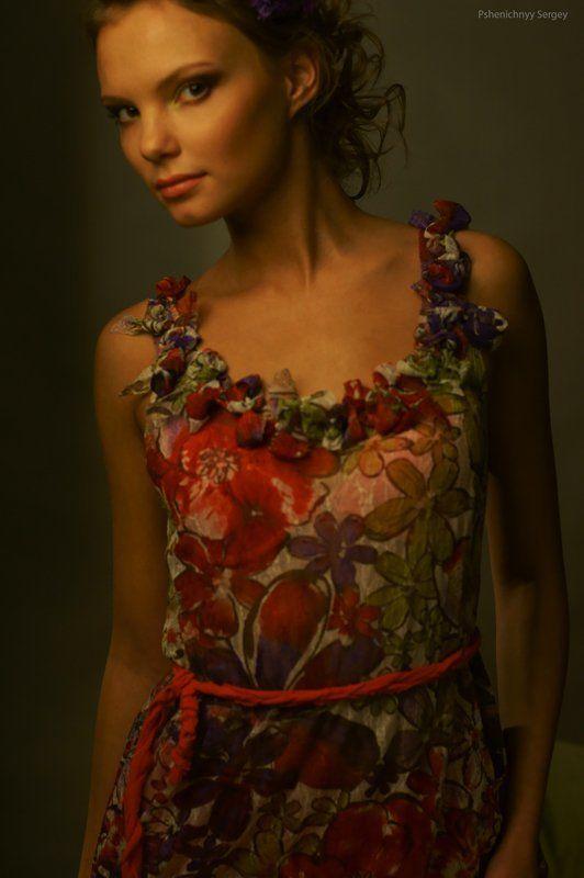 портрет, жанр, на душе веснаphoto preview