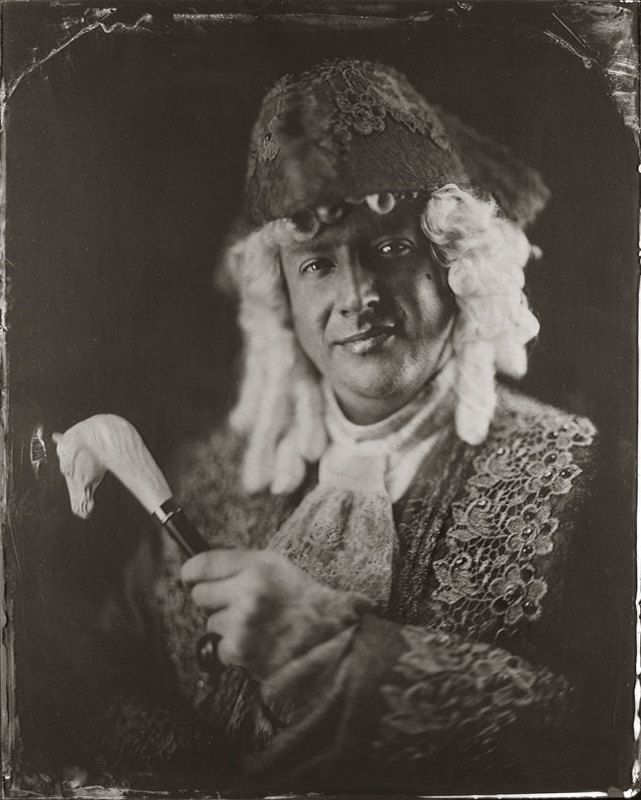 wet, plate, collodion, ambrotype Николя...photo preview