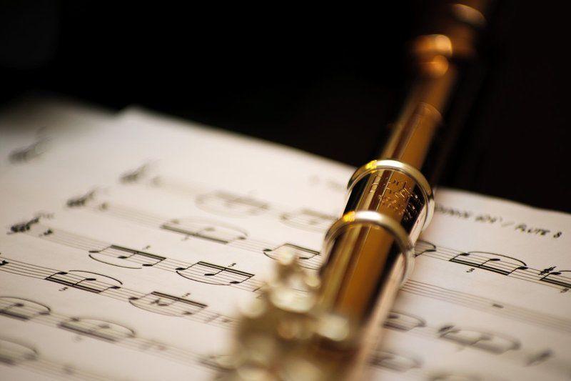 флейта, ноты, музыка photo preview